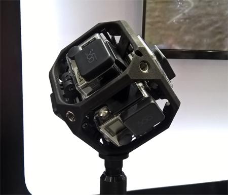 GoPro VR Rig