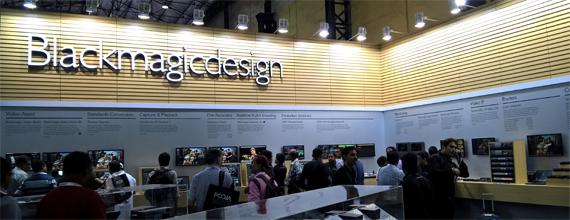 Blackmagicdesign Booth